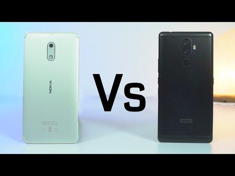 Nokia 6 vs Lenovo K8 Note Speed Test