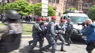 Prime Minister Serzh Sargsyan Resigns, Euphoria of Armenians