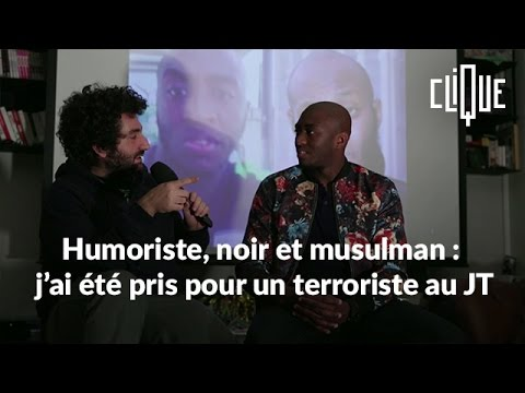 Humoriste, noir et musulman : j'ai été pris pour un terroriste au JT