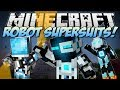 foto Minecraft | ROBOT SUPERSUITS! (Guns, Gadgets, Jetpacks & More!) | Mod Showcase