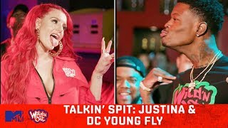 Video Justina Valentine & DC Young Fly Can't Hold Water 💦 Wild N' Out | #TalkinSpit MP3, 3GP, MP4, WEBM, AVI, FLV Oktober 2018