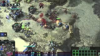 (HD992) MarineLorD vs TargA - TvZ - Heart of the Swarm [FR]
