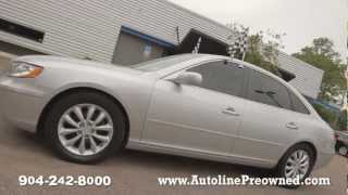Autoline's 2008 Hyundai Azera Limited Walk Around Review Test Drive