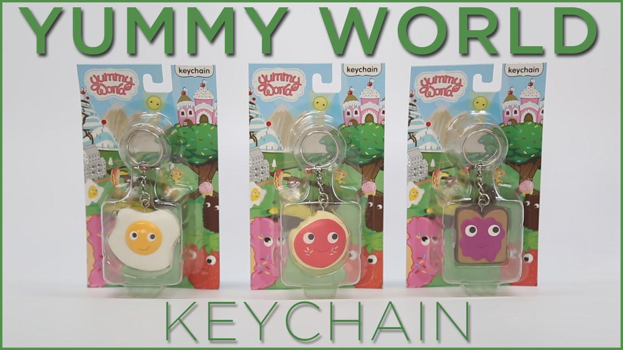 YUMMY WORLD Keychains by Kidrobot! Ep 2