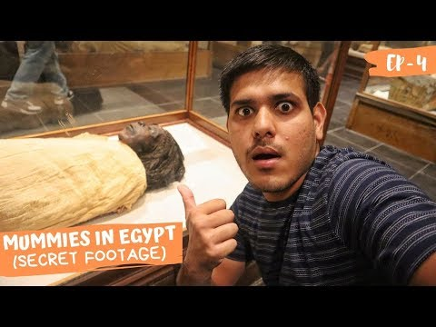 THE ROYAL MUMMIES OF EGYPT(SECRET FOOTAGE) 💀 #INDIANINEGYPT |EP-4|.
