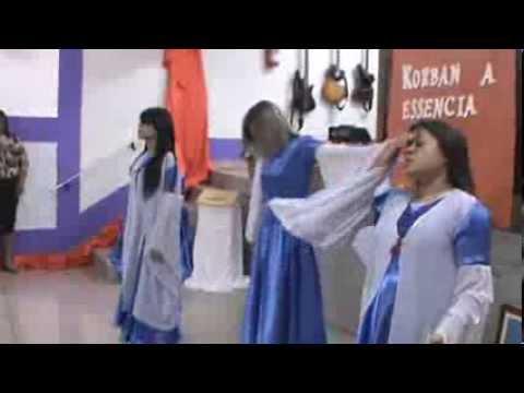 Ig. Manancial de Poder- Encontro de mulheres- Coreografia A crucificação