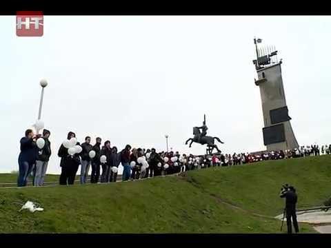 Новгородцы присоединились к всероссийской акции «Летят журавли»