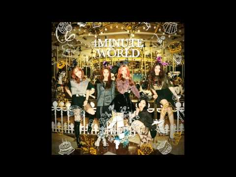 01. 4Minute (포미닛) – Wait A Minute [4Minute - 4Minute World (5th Mini Album)]