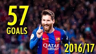 Video Lionel Messi - All 57 Goals in 2016/17 - Golden Boot Winner (HD) MP3, 3GP, MP4, WEBM, AVI, FLV Oktober 2017