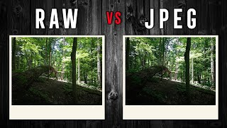 RAW vs JPEG: Which format should YOU shoot in?