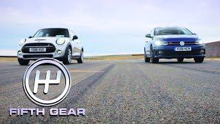 Volkswagen Polo GTI VS Mini Cooper S Shootout | Fifth Gear by Fifth Gear