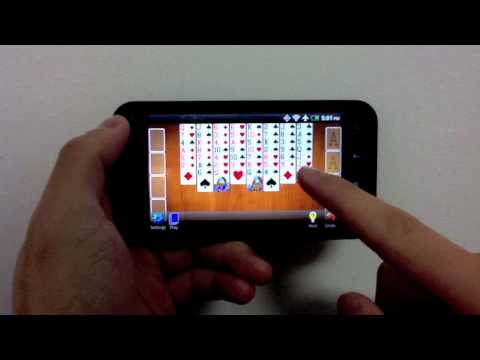Video of FreeCell Solitaire