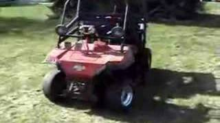 10. 1991 Kawasaki Mule 1000 with a Suzuki GS750 bike engine