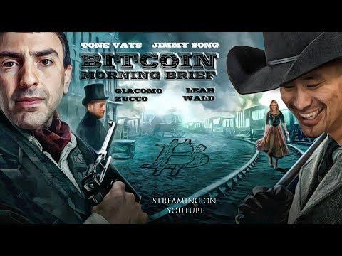 Bitcoin Morning Brief w/ Jimmy - Bitfinex, Coinbase & ATH Again! video