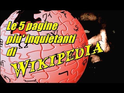 le 5 pagine più inquietanti di wikipedia