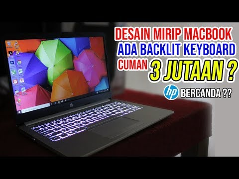 HP 14s DK0073AU, LAPTOP 3 JUTAAN DENGAN BACKLIT KEYBOARD & DESAIN MACBOOK