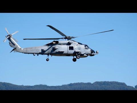 4K 60 fps footage of the RAN Sikorsky...