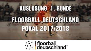 Auslosung der 1. Runde des Floorball Deutschland Pokal 2017/18 in der Stadtfeldhalle Wernigerode.