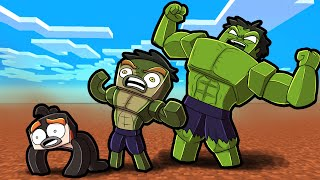Transform into HULK in Crazy Craft! (Minecraft)