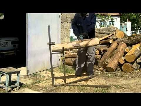 Козёл для пилки дров своими руками