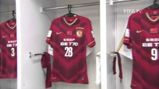 Get an exclusive look inside the locker room for the Chinese club ahead of their match with Barcelona at the FIFA Club World Cup Japan 2015. More FIFA Club ...