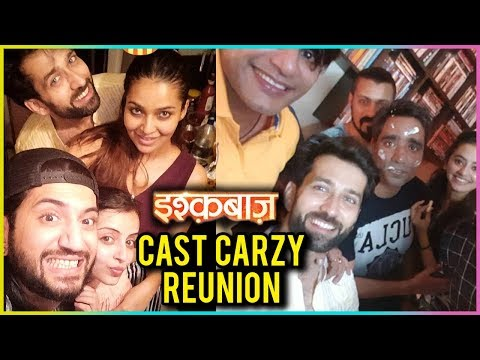 Ishqbaaaz Cast Crazy REUNION | Off Screen Masti |