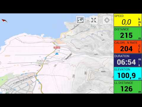 Video of Momentum Tracker: GPS run bike