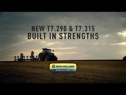 New Holland T7.290 & T7.315 – Built in Strengths
