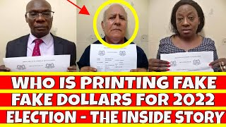 Who is Behind Printing of Fake Dollars in the country Ahead of Kenya's 2022 elections