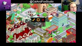 "Thanks for Joining Cat and Fox for another gaming Lets Play! ^_^Tapped Out! Tuesdays! Simpsons Tapped Out! (Episode 19) Fox continues Lvl 56, unlocked the Monorail and recycling... and continue to plug away at those jobs...The Simpsons Tapped Out popular Forums: http://tstoaddicts.com/http://tstoforum.com/http://forum.ea.com/eaforum/forums/show/4127.page (Finding friends forum)50% of all proceeds go to the ""No Trans Left Behind"" non-for-profit,Thank you very much, a virtual musical hugs if you have donated:https://www.paypal.com/cgi-bin/webscr?cmd=_s-xclick&hosted_button_id=48QLEPMQM2PU8don't be afraid to LIKE: http://facebook.comor SUBSCRIBE: http://youtube.com/CatAndFoxStudioor TWEET me: @CatAndFoxStudioor have some non-gaming fun on my other channels:http://youtube.com/TheJennaFoxor my tech shows at http://youtube.com/TWIRtv"