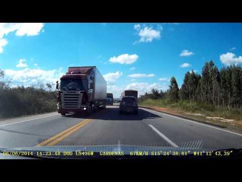 Viagem de Carapicuíba-SP a Boca da Mata-AL Parte - 21 BR 116 Antes de Vitória da Conquista