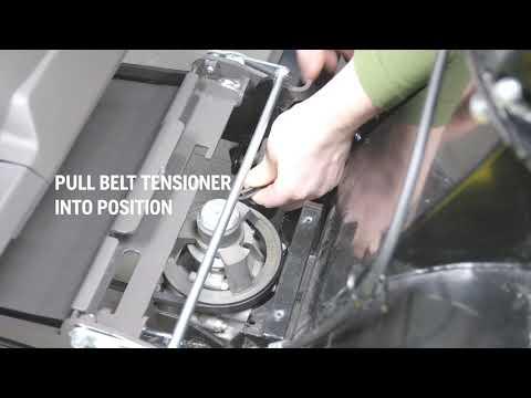 Садовый райдер бензиновый HUSQVARNA R 316TX AWD - видео №5