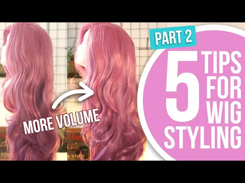 5 Basic Tips for Cosplay Wig Styling (Part 2)