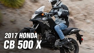 4. 2017 Honda CB500X Spec