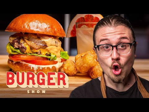 Joshua Weissman Cooks the Perfect Burger Combo Meal | The Burger Show