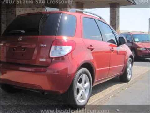 2007 Suzuki SX4 Crossover Used Cars Killeen TX