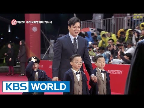 Opening Ceremony of The 22nd Busan International Film Festival [ENG/2017.10.18] (видео)
