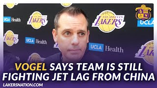 Lakers Post Practice: Vogel Believes Team Is Still Fighting Jet Lag From China Trip by Lakers Nation