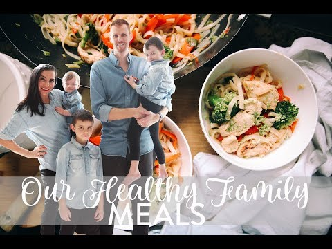 WHAT WE EAT IN A DAY   Family of 5   Healthy Family Meals