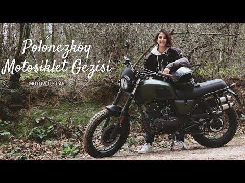 #motovlog #brixtonmotorcycles Brixton BX 125 X ile Polonezköyde Arazi Sürüşü yada Süremeyişi :)