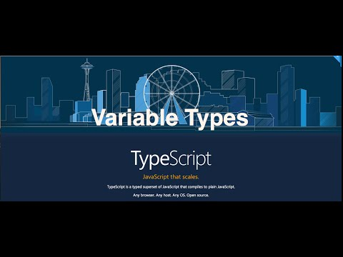 12-  TypeScript || Variable Types