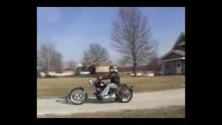 8. Loud Chopper Harley Davidson FXSTBI Night Train