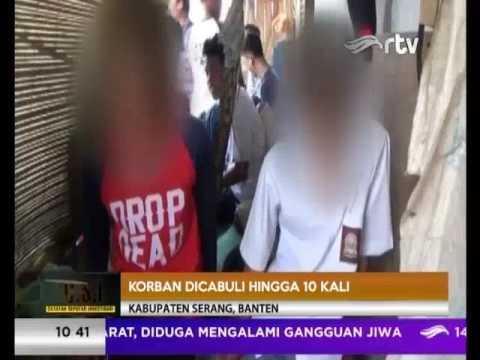 GURU NGAJI CABULI 2 MURID DI BANTEN [CSI RTV 25 JULI 2017]