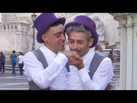 Πρώτο σύμφωνο συμβίωσης ομοφυλοφίλων στη Ρώμη