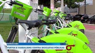 Sorocaba: cresce número de furtos e vandalismo contra bicicletas do sistema Integrabike
