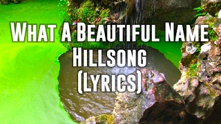 What a Beautiful Name - Hillsong (Lyrics); Sintra, Portugal background (GraceToday)