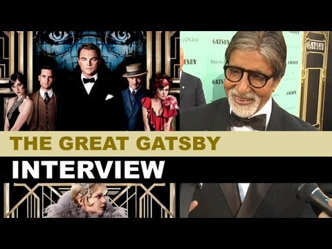 The Great Gatsby Interview 2013 - Amitabh Bachchan at NYC Premiere : Beyond The Trailer
