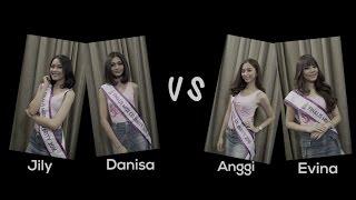 Jily, Danisa, Anggi dan Evina (Finalis Miss Celebrity 2016) - Bermain Sambung Kata