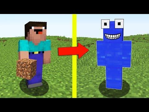 НУБ УЧИТ ВОДЯНОЙ МОНСТР ИГРАТЬ В МАЙНКРАФТ СКАЙ ВАРС ! НУБ ПРОТИВ ПРО ! ТРОЛЛИНГ НУБИК Minecraft (видео)