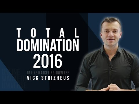 "Vick Strizheus Webinar ""Total Domination"" 2015 